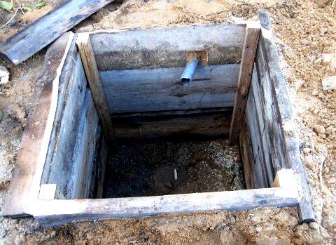 Выгребная яма на даче своими руками фото чертежи