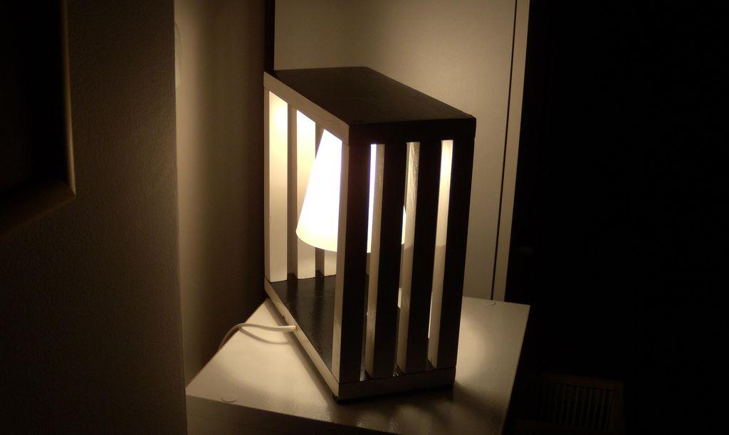 Комнатный светильник своими руками 9