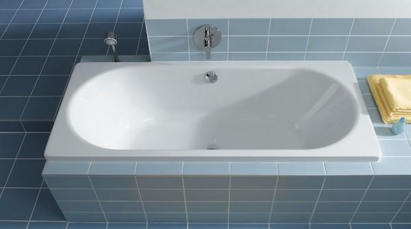 Вариант короба под ванну из фанеры, обложенной керамической плиткой