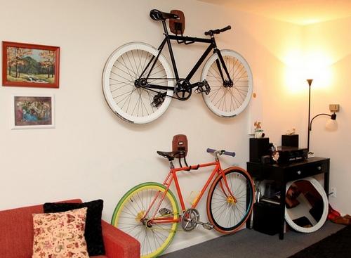 Сделать крепление велосипеда на стену