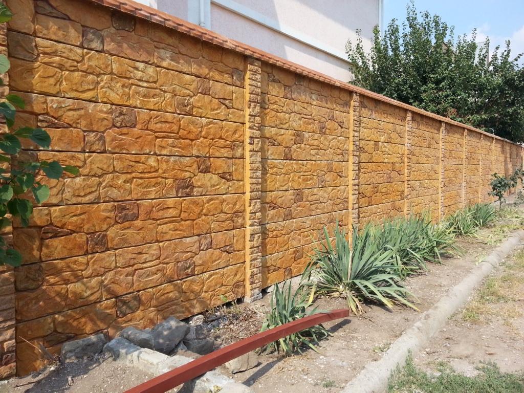 Как самим сделать бетонный забор 898