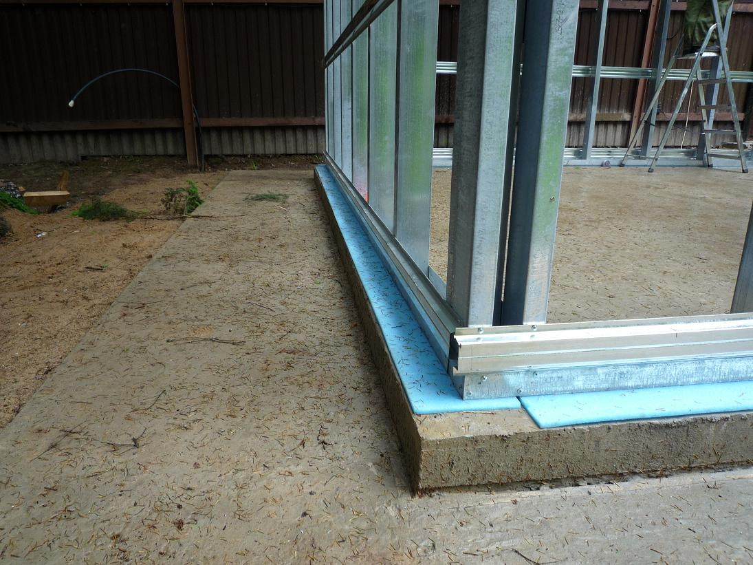 Строим гараж с баней