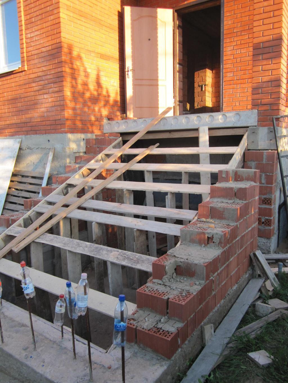Построить лестницу на крыльцо дома своими руками