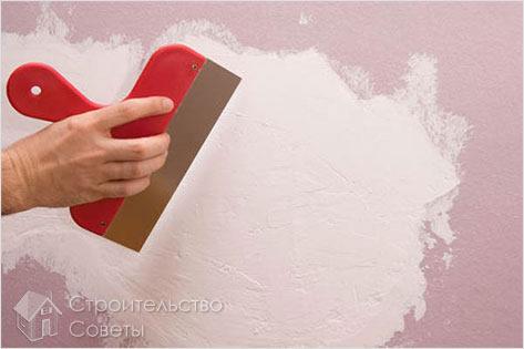 Как зашпаклевать стену своими руками под обои