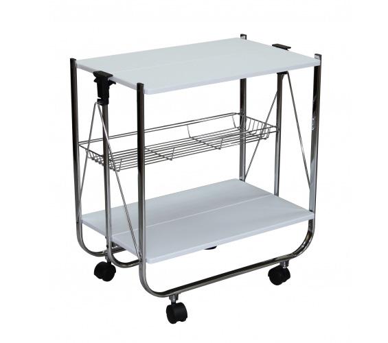 Сервировочный столик-трансформер на колесиках