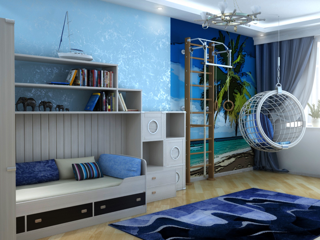 for Ocean themed interior design