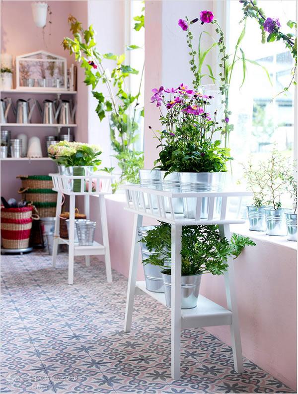 - Pedestal para plantas ...