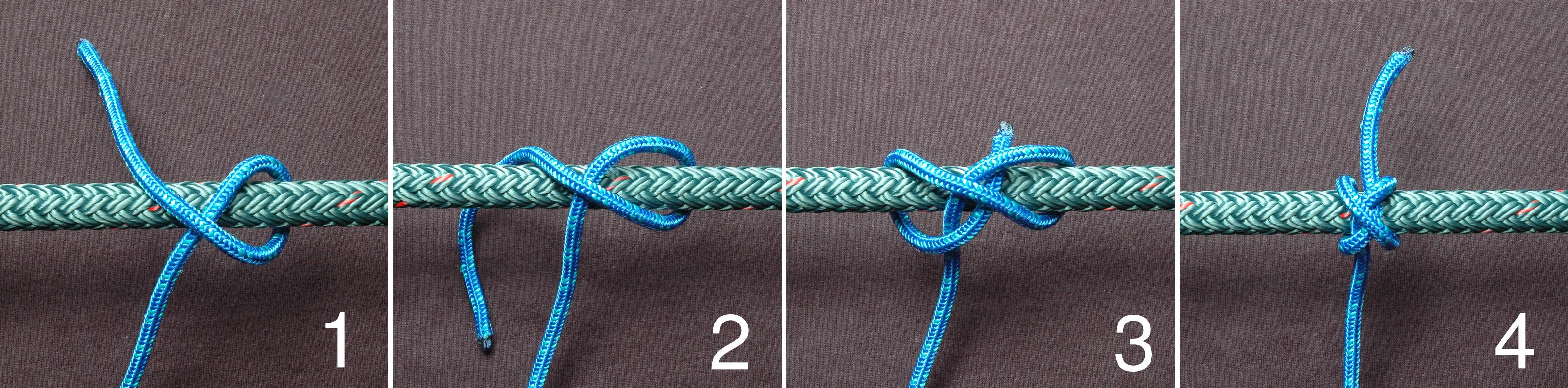 Веревочная лестница своими руками узлы